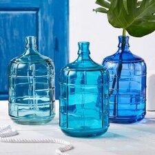 Santorini Glass Vase (Set of 3)