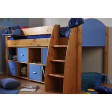 Rondo Stompa European Single Mid Sleeper Bed with Storage