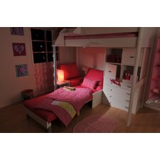 Single High Sleeper Bed with Storage
