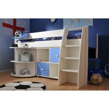 Rondo European Single Mid Sleeper Bed with Storage