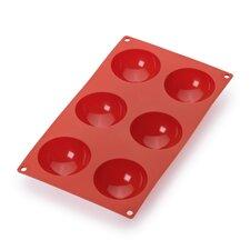 6 Cavity Semi-Sphere Molds
