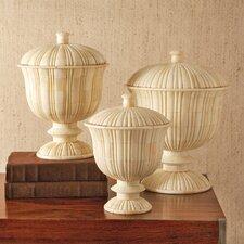 Zanzibar 3 Piece Decorative Urn Set