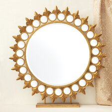 Sun Mirror on Pedestal