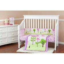 Spring Garden 3 Piece Crib Bedding Set