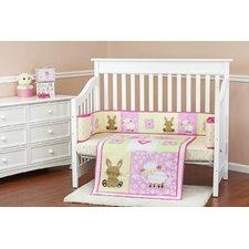 Naptime Friends 3 Piece Crib Bedding Set