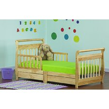 Convertible Toddler Bed with Storage