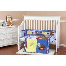 All-Star Athlete 3 Piece Crib Bedding Set