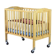 2-in-1 Birch Folding Portable Crib