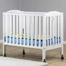 2-in-1 Portable Folding Convertible Crib