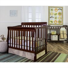 Animal Kingdom Reversible Portable 5 Piece Crib Bedding Set