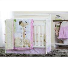 Jungle Friends 5 Piece Crib Bedding Set