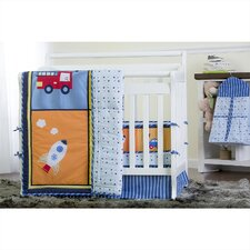 On the Go 5 Piece Crib Bedding Set