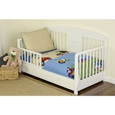 Travel Time 4 Piece Toddler Bedding Set