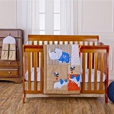 Jungle Babies Portable 5 Piece Crib Bedding Set
