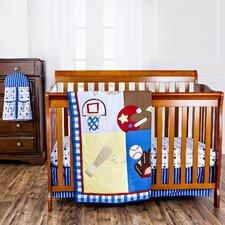 All-Star Portable 5 Piece Crib Bedding Set
