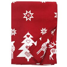 Tessa Christmas Fir Tree Print Tablecloth