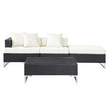 Calabasas 4 Piece Deep Seating Group with Cushions