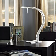 """Inspect 36"""" H Table Lamp with Novelty Shade"""
