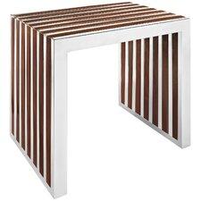 Gridiron Wood Entryway Bench