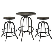Sylvan 3 Piece Pub Table Set