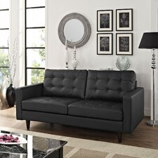 Princess Leather Modular Loveseat