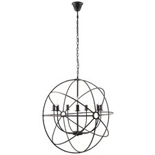 Atom 7 Light Candle Chandelier