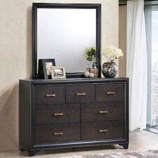 Maiden 7 Drawers Dresser with Mirror