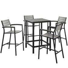 Maine 5 Piece Bar Set