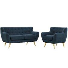 Remark 2 Piece Living Room Set