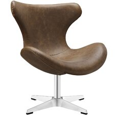 Helm Vinyl Lounge Chair