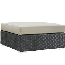 Sojourn Ottoman with Cushion