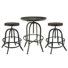 Sylvan 3 Piece Pub Table Set