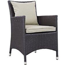 Convene Dining Arm Chair with Cushion