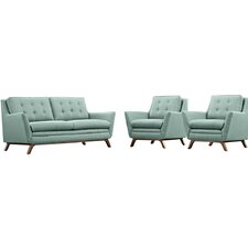 Beguile 3 Piece Living Room Set