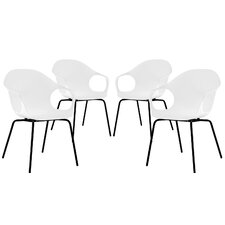 Swerve Arm Chair (Set of 4)