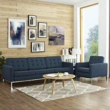 Loft 2 Piece Living Room Set