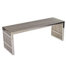 Gridiron Stainless Steel Bench