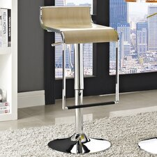 LEM Adjustable Height Swivel Bar Stool