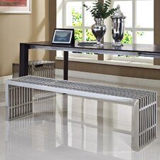 Gridiron Stainless Steel Bench (Set of 2)