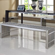 Gridiron Stainless Steel Bench (Set of 3)