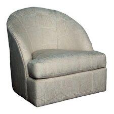 Wexford Lithograph Sand Swivel Arm Chair
