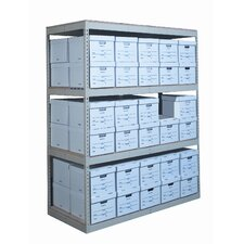 Record Storage Decking 3 Shelving Unit Add-on