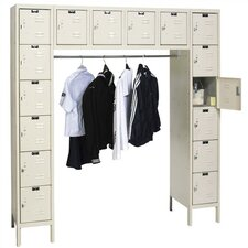 Premium 6 Tier School Locker