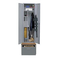 Welded 1 Tier 1 Wide Emergency Response Locker