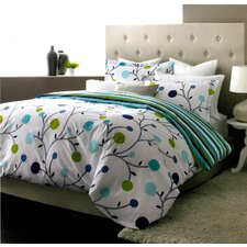 Willow 3 Piece Duvet Cover Set