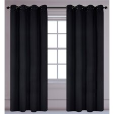 Luxura Light Reducing, Insulating Grommet Curtain Panels (Set of 2)