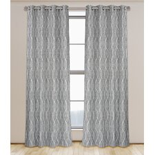 Ripples Curtain Panel (Set of 2)