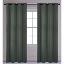 Luxura Light Reducing, Insulating Grommet Curtain Panel (Set of 2)