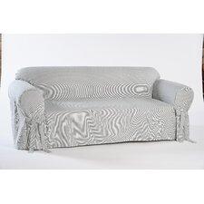 Stripe Twill Sofa Slipcover