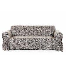 Zebra Print Sofa Slipcover